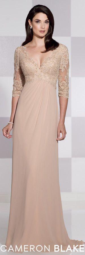 Cameron Blake Spring 2015 - Style No. 115617 cameronblake.com #eveninggowns #motherofthebride