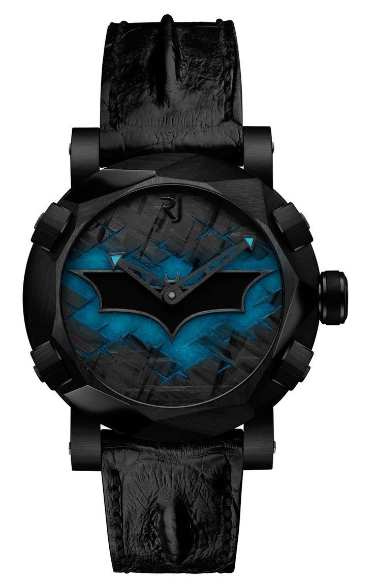 Romain Jerome Batman DNA Watch Debut   watch releases