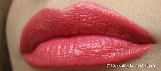 Тёплый розовый коралл для пасмурной погоды. YSL Rouge Volupté 33 Rose Neillia (Pink Neillia)