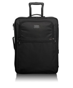 lightweight cabin luggage from Tumi.