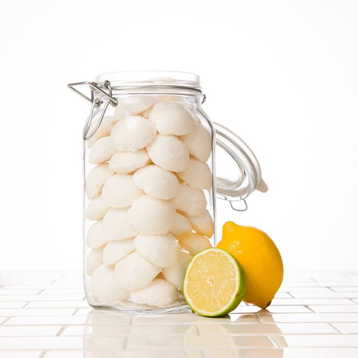 Make your own garbage disposal refreshers at home with Lemon essential oil to get rid of any unpleasant odors emanating from the sink.