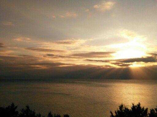 Παραλία Φλάμπουρο στην περιοχή Λουτράκι, Κορινθία
