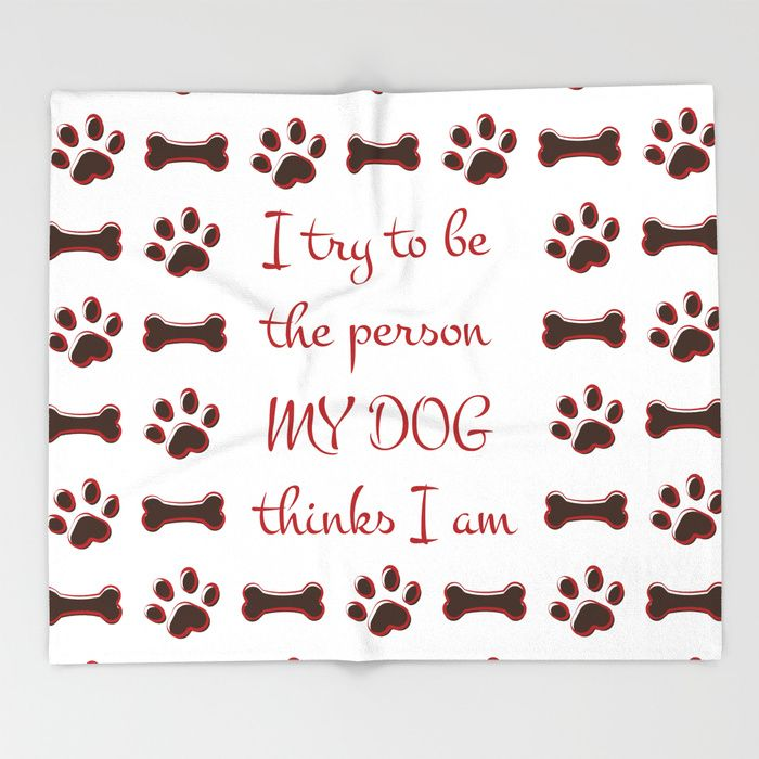 $49.99 Made of 100% polyester and sherpa fleece, these might be the softest blankets on the planet. #blanket #home #decor #dog #animals #paw #pet #puppy #bones #typography #pattern #drawing #funny #cool #red #brown #white #humor #quotes #buyart #society6 #gift #giftideas