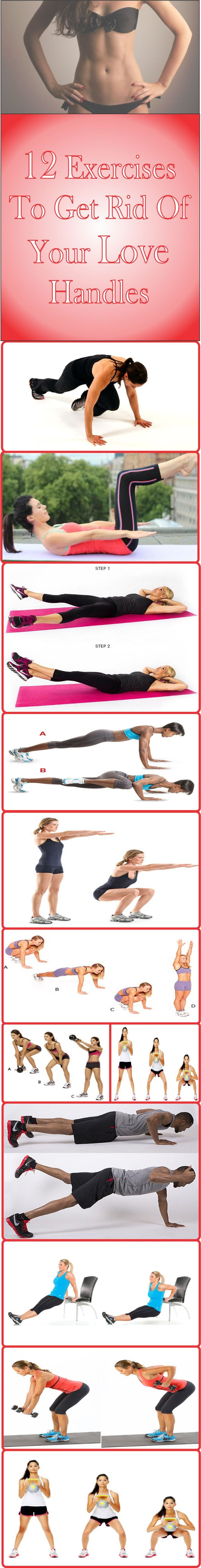 7 Moves to Lose Your Love Handles - Shape Magazine