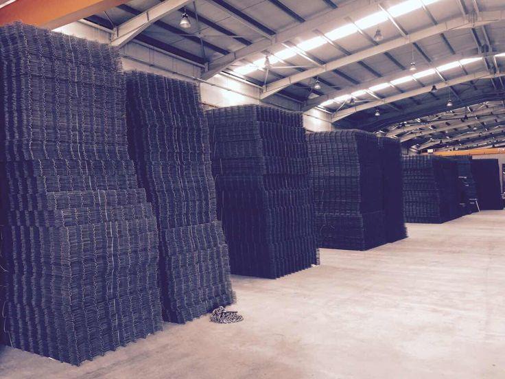 #reinforced #wire #mesh #wiremesh #ready #orders #production #kamaridis #kamaridis_global_wire_team