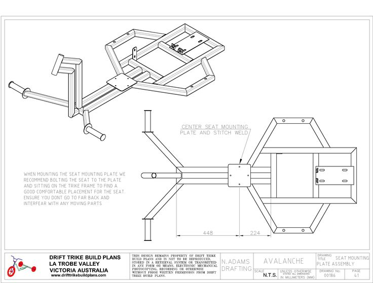 Avalanche 41 3037 2304 milton trike for Custom building plans