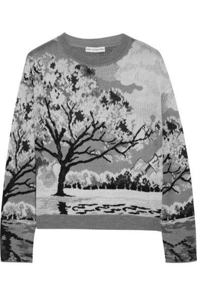 Mary Katrantzou knitted landscape