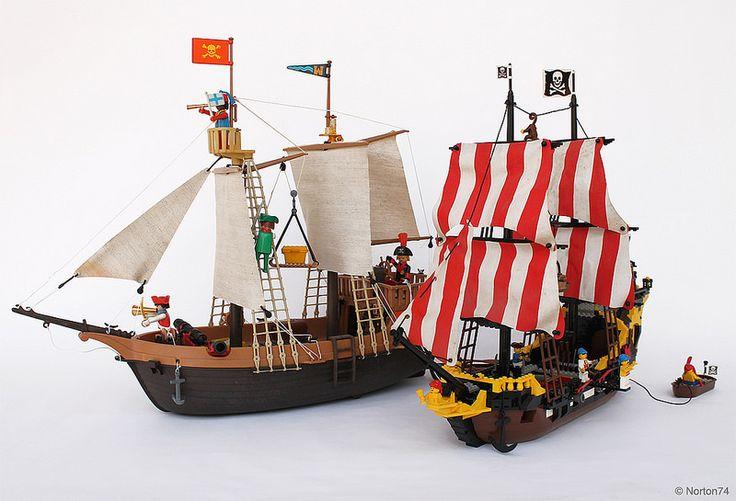 Pirates: Playmobil Vs LEGO