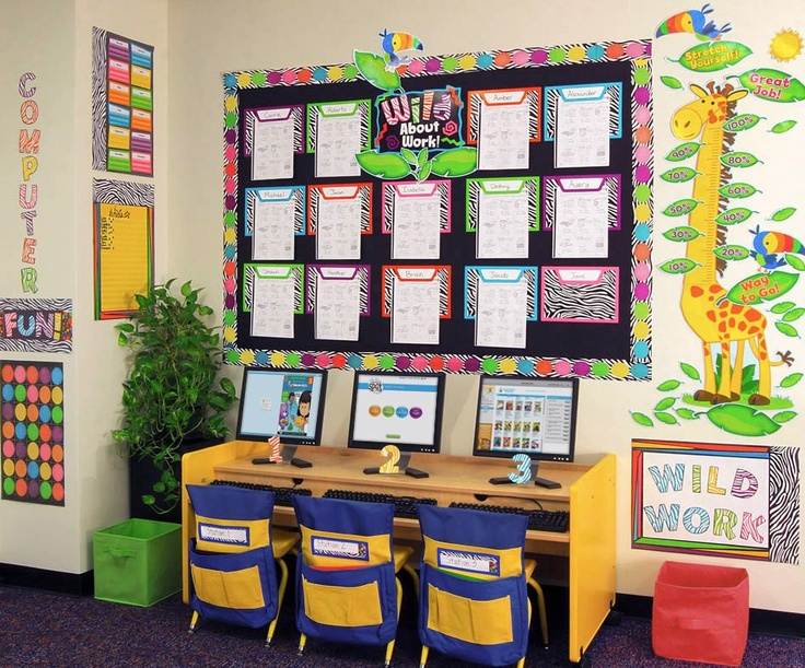 the new wild style classroom theme will appeal to the most fashion savvy teachers who want a classroom thats as stylish as they are - Classroom Design Ideas