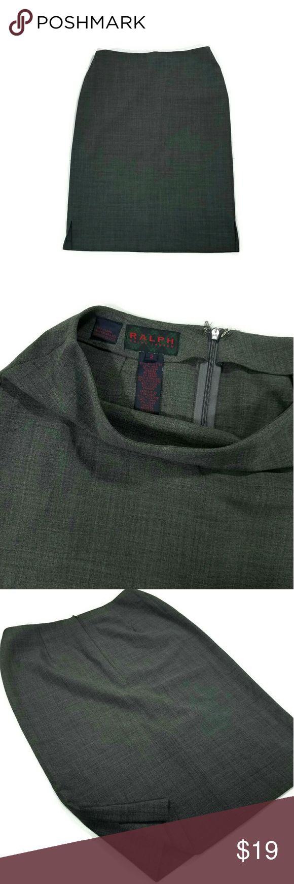 """Ralph by Ralph Lauren skirt Great condition. Size 2. 52% polyester, 43% wool, 5% lycra spandex.   Waist 26"""". Length top to bottom 22"""". Ralph Lauren Skirts"""