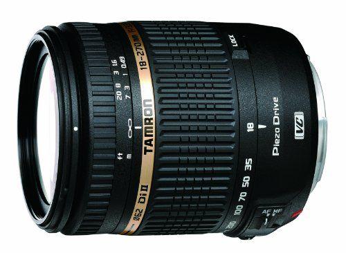 Tamron AF 18-270mm f/3.5-6.3 Di II VC PZD LD Aspherical IF Macro Zoom Lens for Canon DSLR Cameras $649.00 Rebate: $50.00Price After Rebate:  $599.00