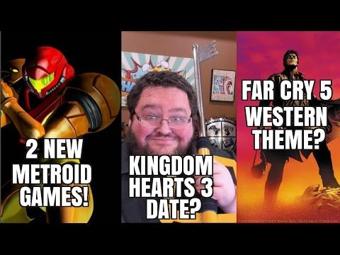"farcry5gamer.comNew #METROID Games? #Kingdom #Hearts #3 #release date!  Far #Cry #5 WESTERN?   In this video I mention my #Patreon.  Its a ""ad block forgiveness"" #Patreon.  If you wanted to give just a dollar it would help offset the use of ad block!    In this week's #gaming news video we talk about #Kingdom #hearts #3 and its potential #release datehttp://farcry5gamer.com/new-metroid-games-kingdom-hearts-3-release-date-far-cry-5-western/"