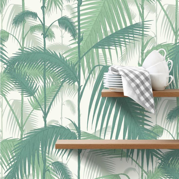 papier peint palm jungle cole and son jungle papier. Black Bedroom Furniture Sets. Home Design Ideas