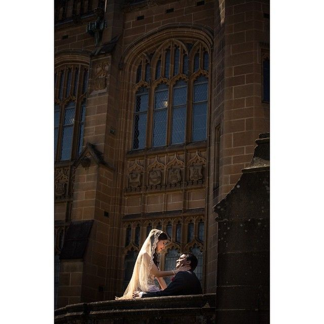 Another one of Stela and Sandipan on their wedding day at @sydney_uni  More of my work - www.southernlight.com.au  #Indian #hindu #hinduwedding #Indianwedding #Sydney #wedding #sari #love #bridal #bride #groom #mehndi #henna #weddingphotography #bengaliwedding