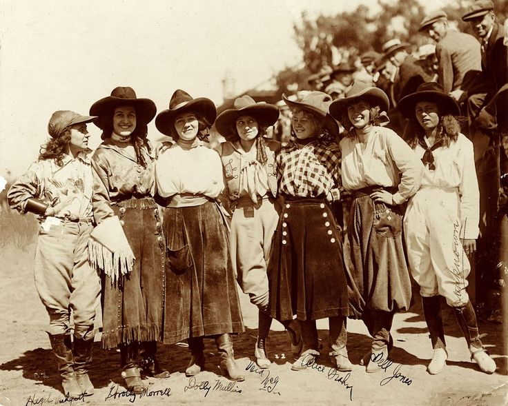 In the early 1900s, Wild West shows gave way to rodeos, giving little girls new role models in early-day cowgirls.  True West Magazine. #WildWest #History