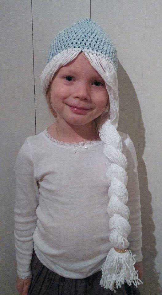 Crochet elsa hair
