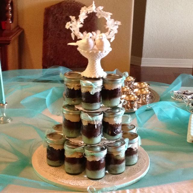 Mason Jar Cupcake Cake... Go ahead and make it your own!