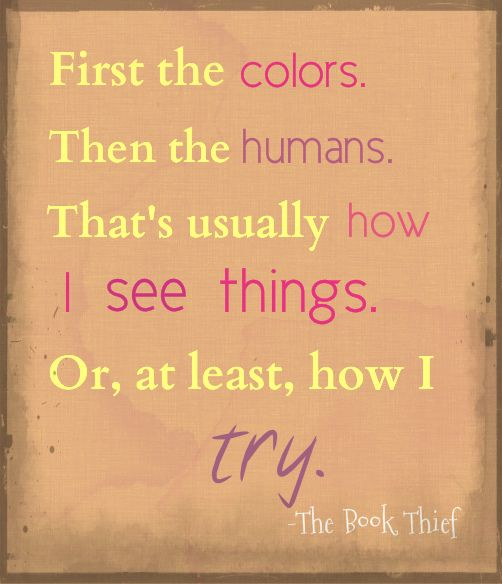 Awesome The Book Thief Colors Gift - Printable Coloring Pages for ...
