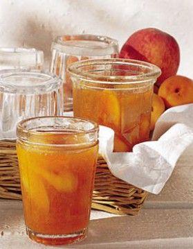 confiture de peches et d abricots
