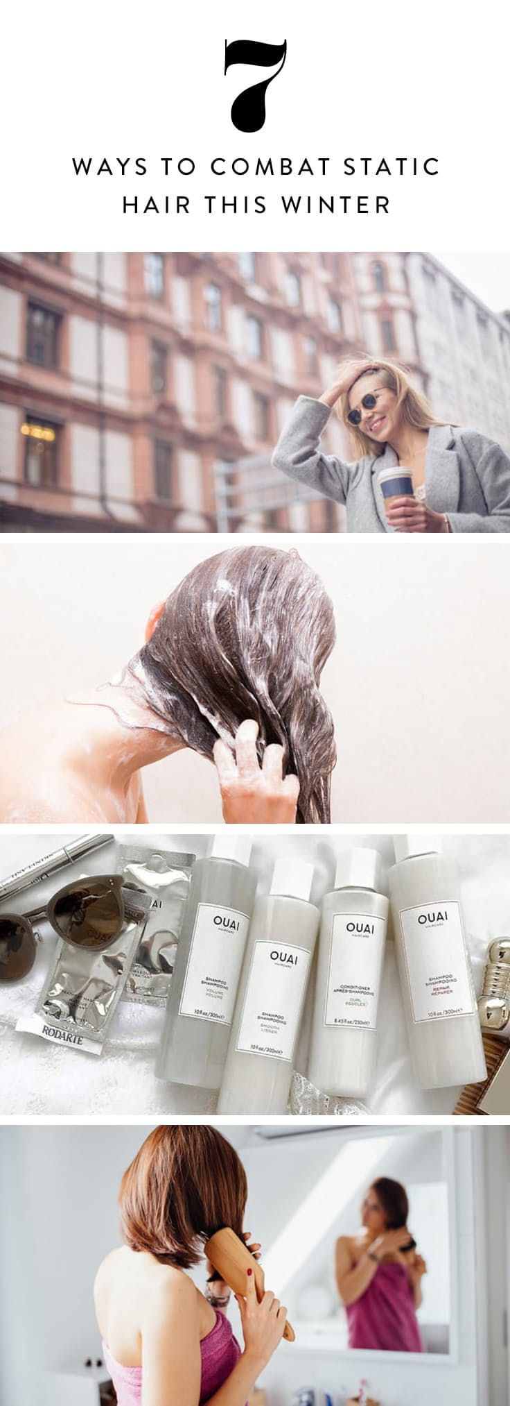 7 Ways to Combat Static Hair This Winter via @PureWow