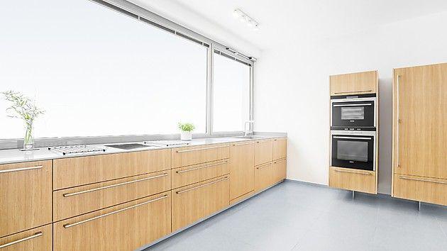 Schöne Küche aus Eiche Furnier (plan 3 küche)