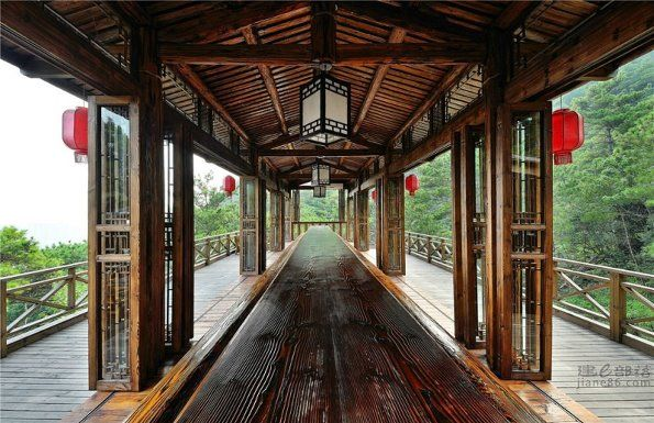 Traditional Chinese House Elements In A Modern Design Chinese Architecture