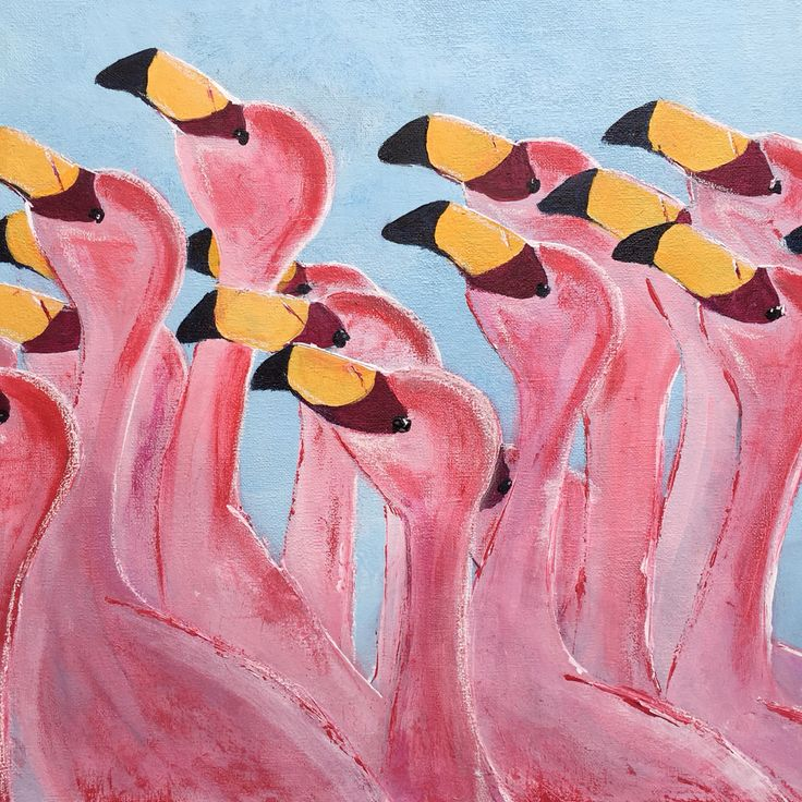 'The Gathering' acrylic on canvas, available for sale on Bluethumb @ www.bluethumb.com.au/rhonda-hodge