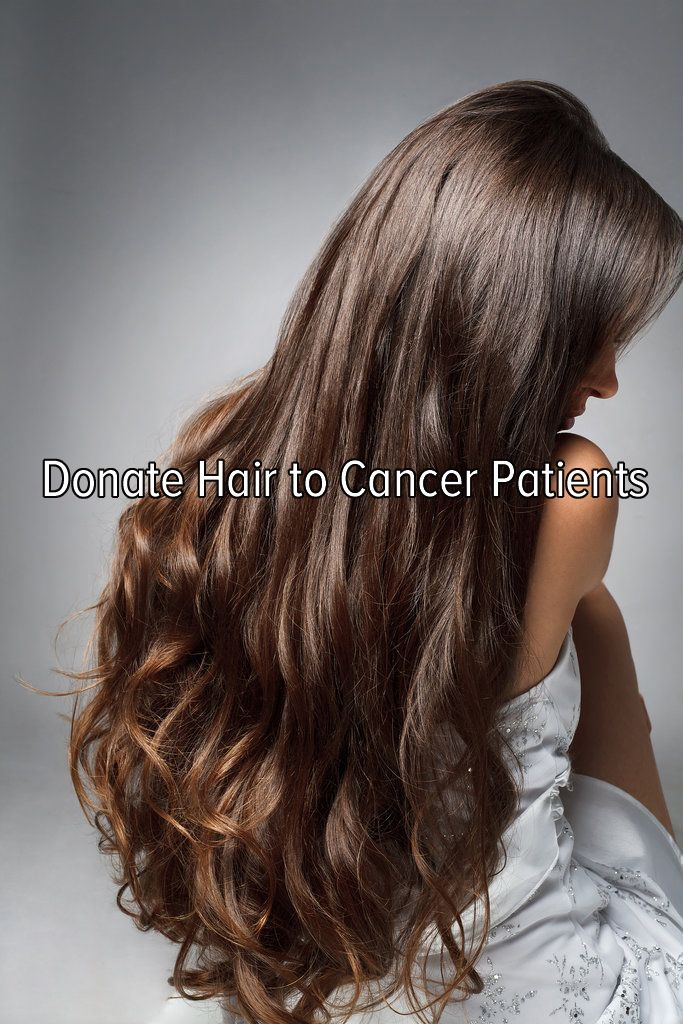 Bucket list: help others by donating hair to cancer patients.
