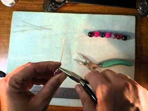 Wirework Caged Bead Bracelet Tutorial