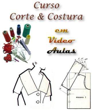 corte e costura - video aulas                                                                                                                                                      Mais