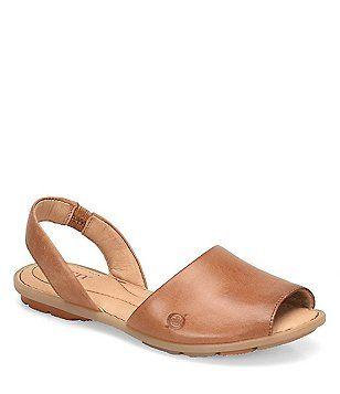 b09cfac4f Born Trang Full Grain Leather Sandals