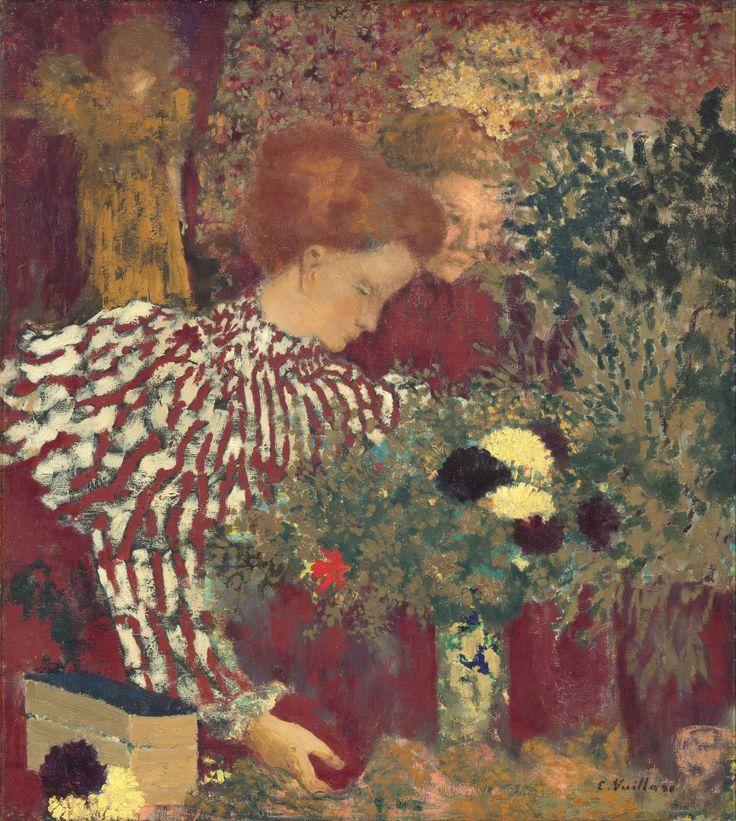 Edouard Vuillard Le corsage rayé
