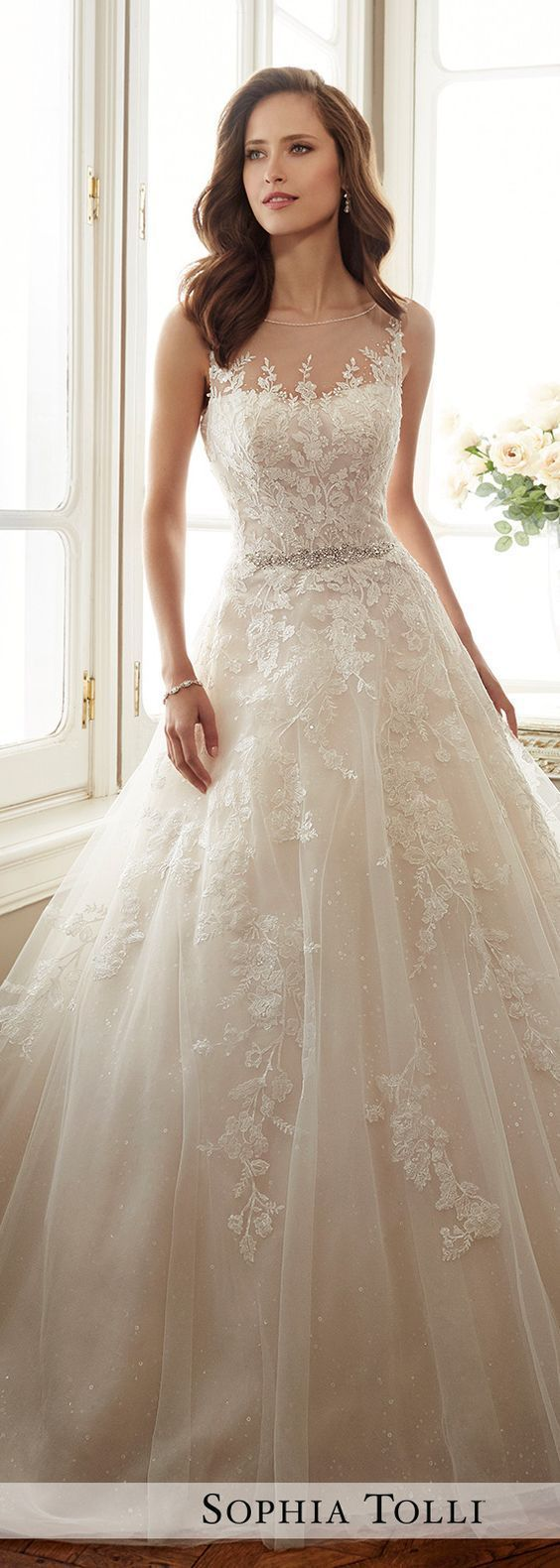 Best 25 Beautiful wedding dress ideas on Pinterest  Bridal dresses Most beautiful wedding