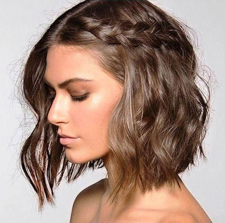 Penteado para cabelos curtos casamentos