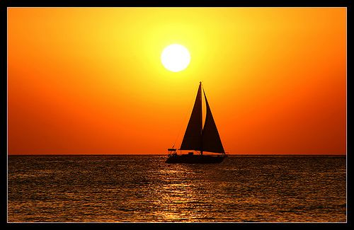 One of the most beautiful sunsets I have ever seen was in Ibiza at Cafe del mar