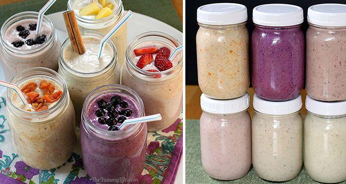 NapadyNavody.sk | Zdravé a chutné ovocné smoothie s ovsenými vločkami (6 variácií)