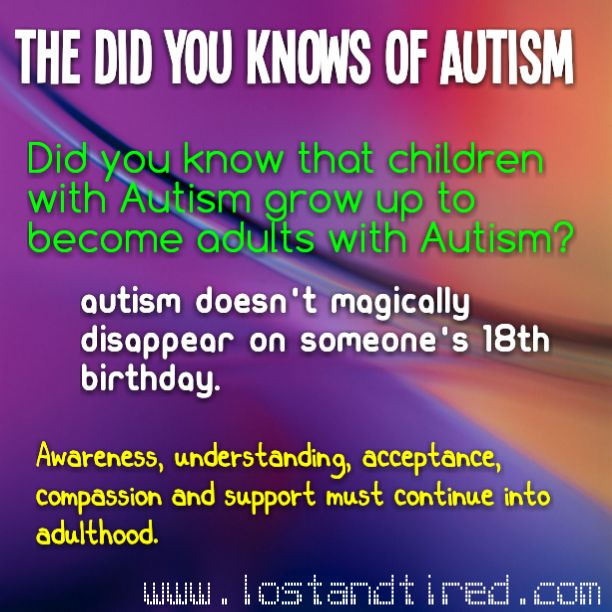 Adults autism aspergers