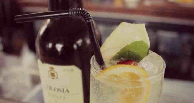 Rebujito of sherry-tini?