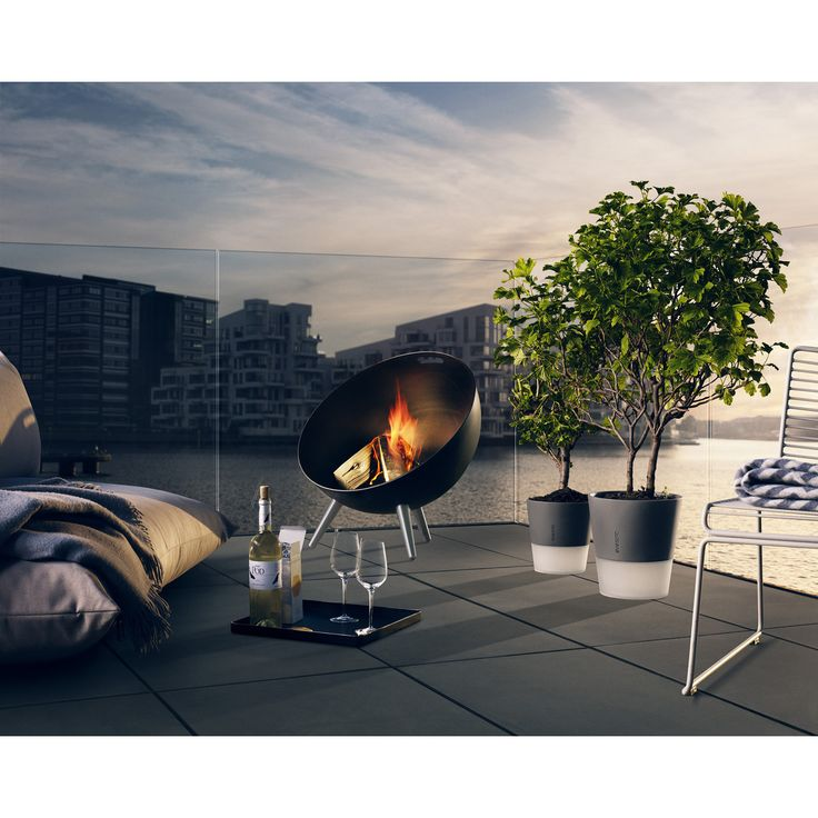 ORIIGINSTORE – ORIGINAL GIFT IDEAS. Eva Solo Fireglobe Fire Pit in enamelled steel and stainless steel.