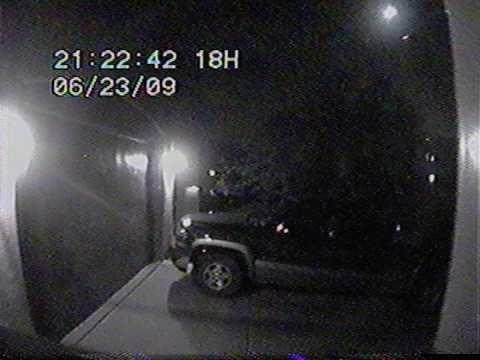 Bolide Meteor Captured on SpyGadgets.com Wireless Security Camera