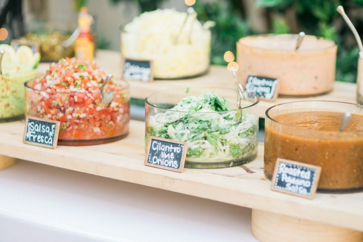 Dips and spreads: http://www.stylemepretty.com/living/2015/03/23/25-party-foods-you-have-to-try-right-now/