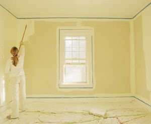 How to Paint Vinyl Mobile Home Walls
