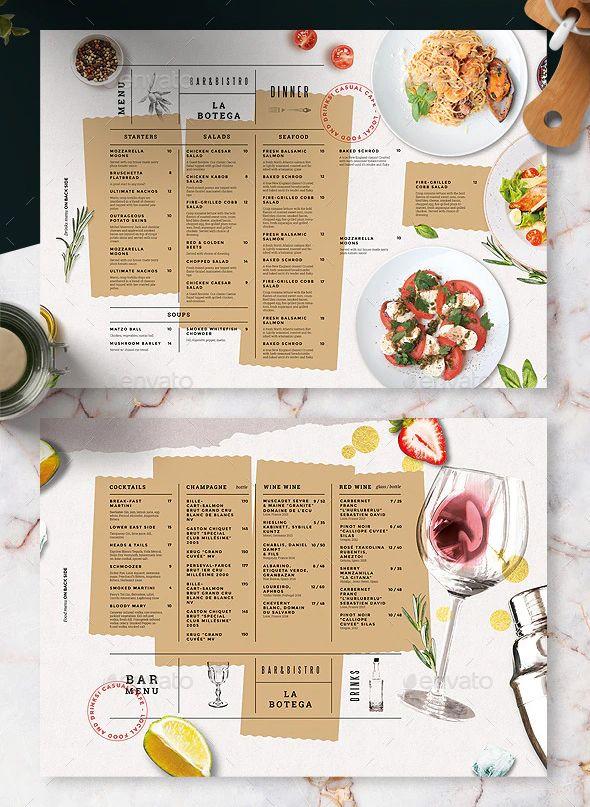 Food And Drinks Menu Template In 2020 Drink Menu Wedding Menu Template Menu Template