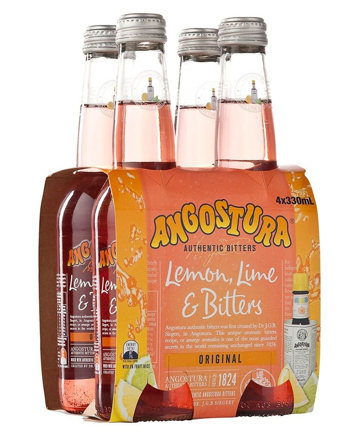 Alcohol alternatives - ANGOSTURA LEMON LIME & BITTERS