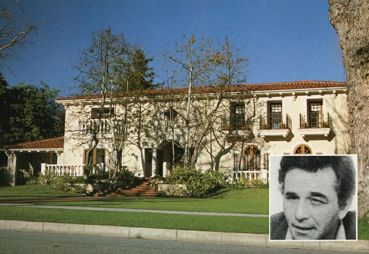 Home Of Peter Falk Beverly Hills California Homes Of