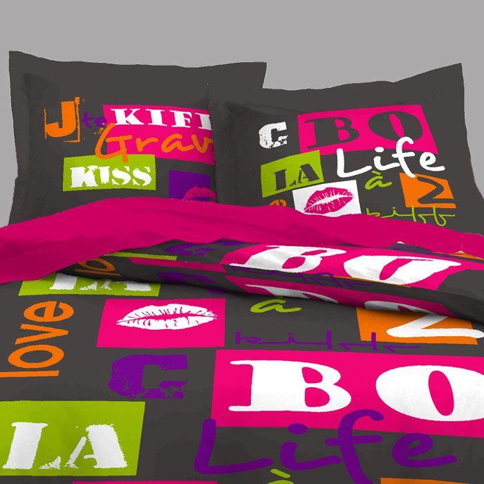 13 best housses de couette originales images on pinterest comforters duvet covers and originals. Black Bedroom Furniture Sets. Home Design Ideas