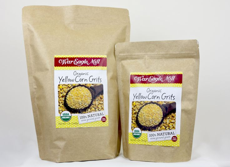 War Eagle Mill - Organic Yellow Corn Grits, $4.89 (http://war-eagle-mill.mybigcommerce.com/organic-yellow-corn-grits/)