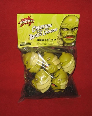 Universal Monsters CREATURE OF THE BLACK LAGOON STRING LIGHT SET