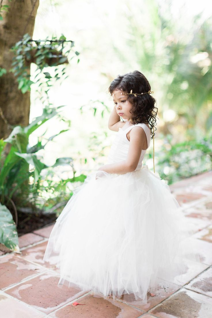 29 best Roundup Post: Flower Girl Hairstyles images on Pinterest ...