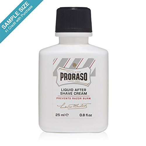 SAMPLE Proraso After Shave Balm Sensitive 0.8 fl oz ($1 Credit with Purchase) - http://darrenblogs.com/2016/03/sample-proraso-after-shave-balm-sensitive-0-8-fl-oz-1-credit-with-purchase/